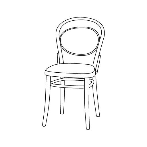 Stuhl 20 von Ton Stühle und Tische