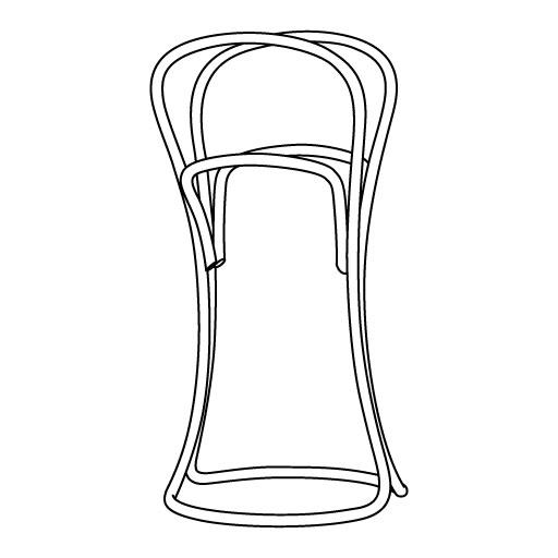 Stummer Diener Petalo von Eugenia Minerva |. Modernes Bugholz für TON Stühle & Tische