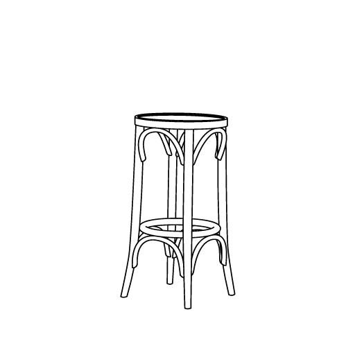 Barhocker 73 von Ton Stühle und Tische