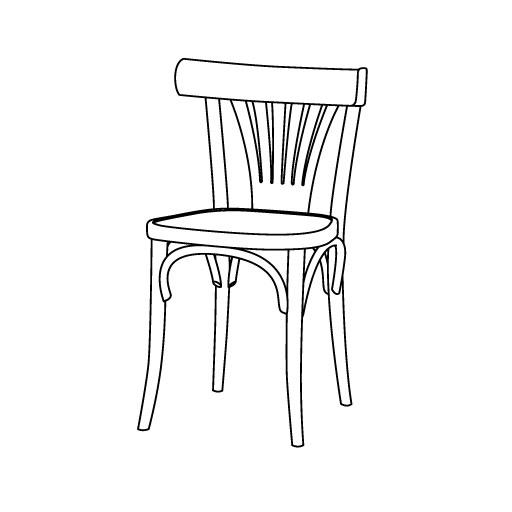 Stuhl 56 von Ton Stühle und Tische